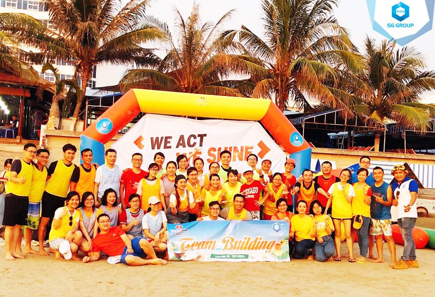 Ngân hàng Techcombank tại bãi biển Long Hải