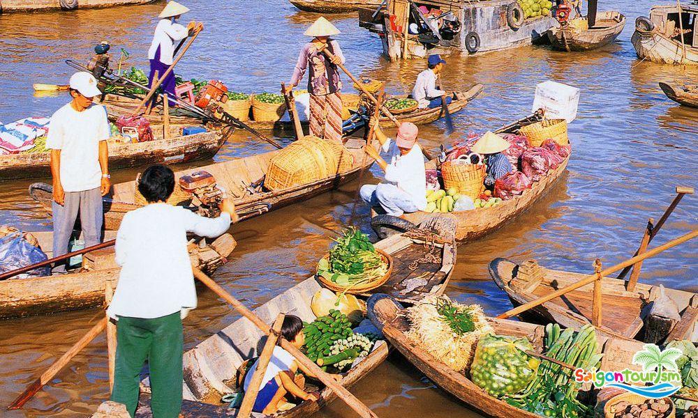 Tour Mỹ Tho - Cù Lao Lân - Tát mướng bắt cá