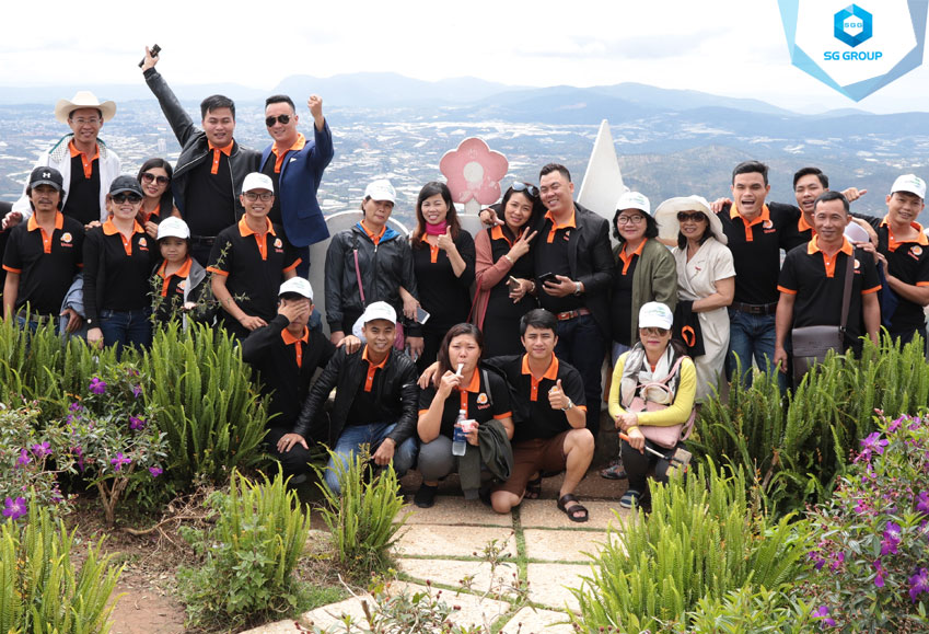 Union team tại núi LangBiang
