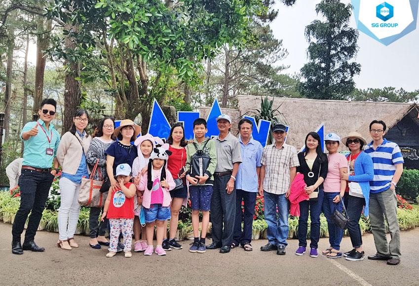 Kho bạc quận Tân Phú trong tour Đà Lạt 4 ngày 3 đêm