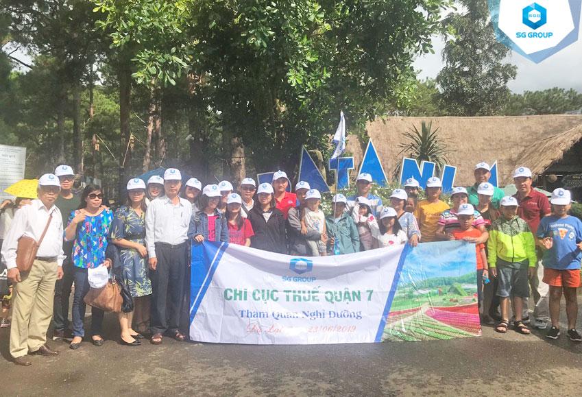 Chi Cục thuế quận 7 tại thác Datanla
