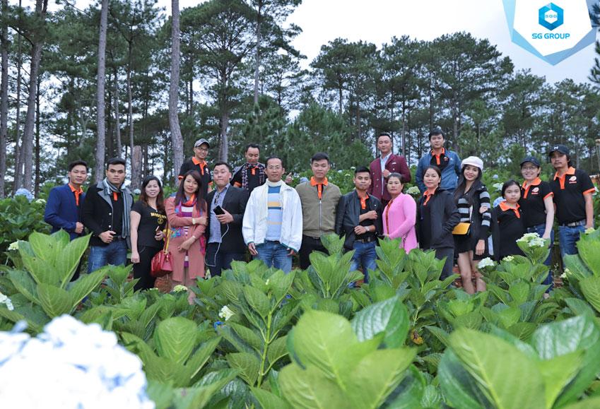 Union team tại đồi Robin