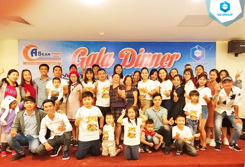 Tiệc Galadinner của Asean window tại Đà Lạt
