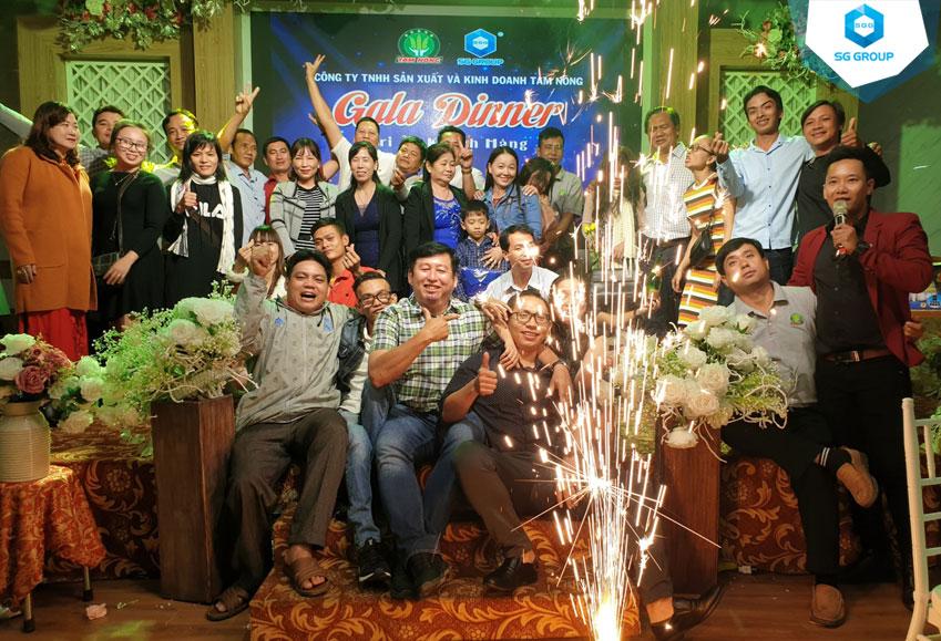 Tiệc Galadinner của công ty Tam Nông