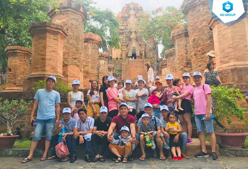 Quoc Huy Anh Corp tại Tháp Bà Ponagar Nha Trang