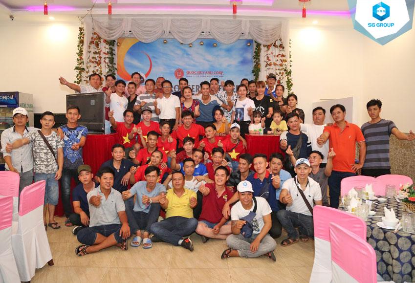 Galadiner của Quoc Huy Anh Corp tại Nha Trang