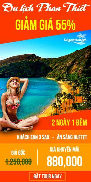 Tour Phan Thiết giá siêu rẻ do Saigontourism tổ chức