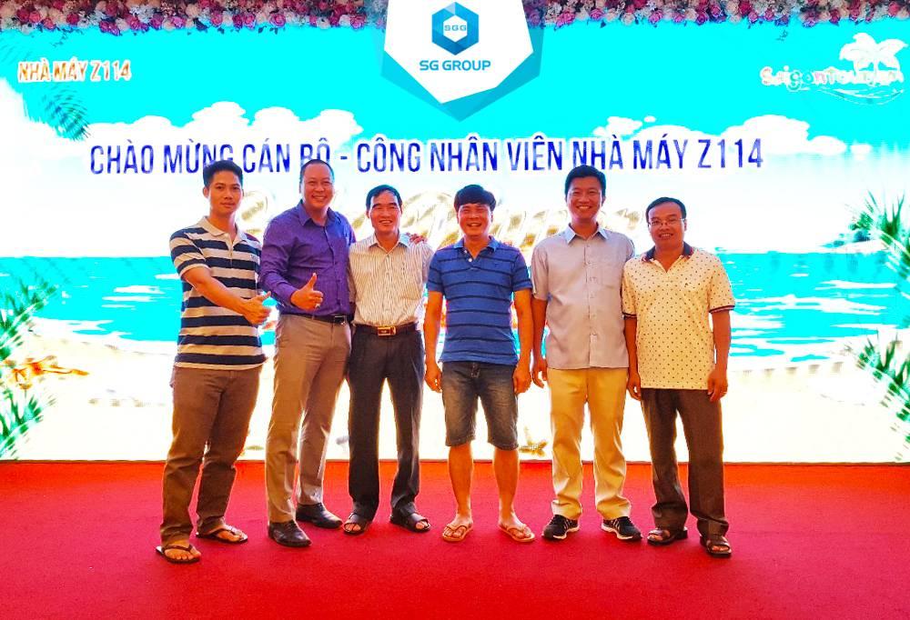 Galadinner của công ty Z114 trong tour Phan Thiết