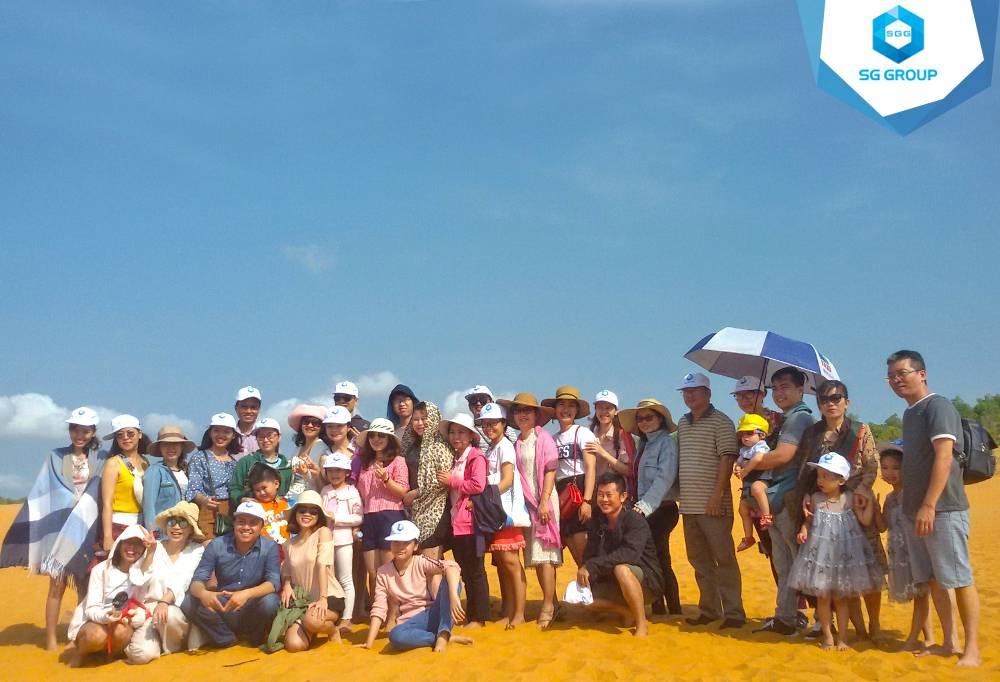 Bảo hiểm xã hội quận Bình Thạnh tại đồi cát bay