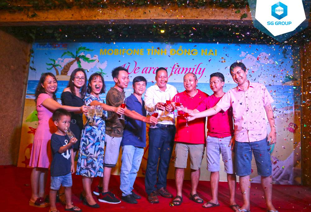 Galadinner của Mobifone Đồng Nai trong tour Phan Thiết