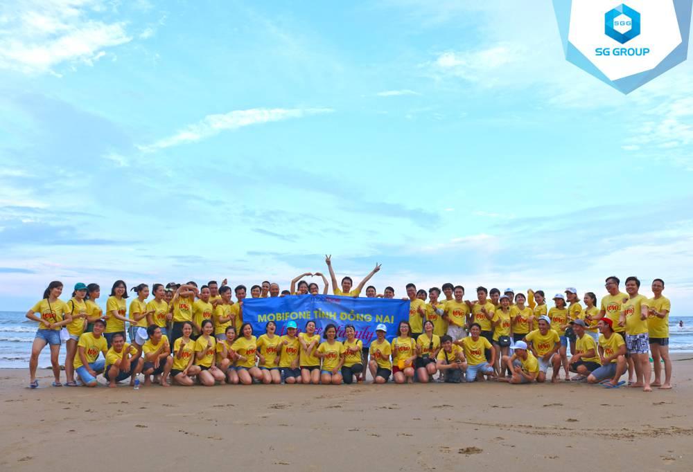 Mobifone Đồng Nai tại bãi biển Phan Thiết