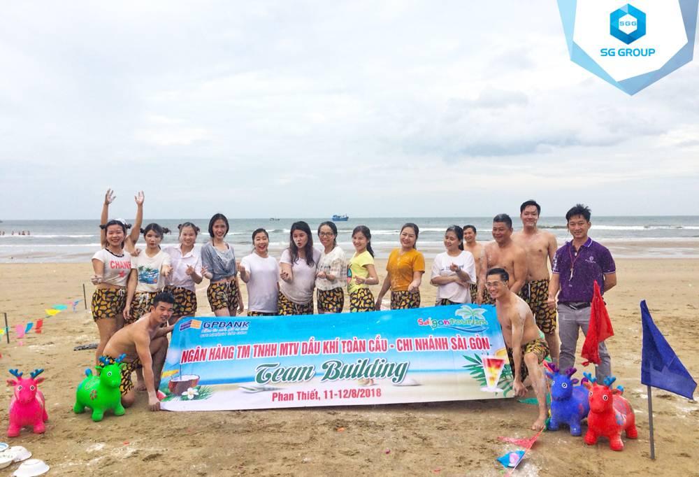 Ngân hàng Dầu khí GPBank tại bãi biển Phan Thiết