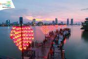 Sự lãng mạng tại cầu tàu tình yêu tại Đà Nẵng