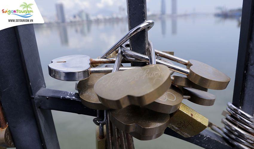 cầu tàu tình yêu tại Đà Nẵng