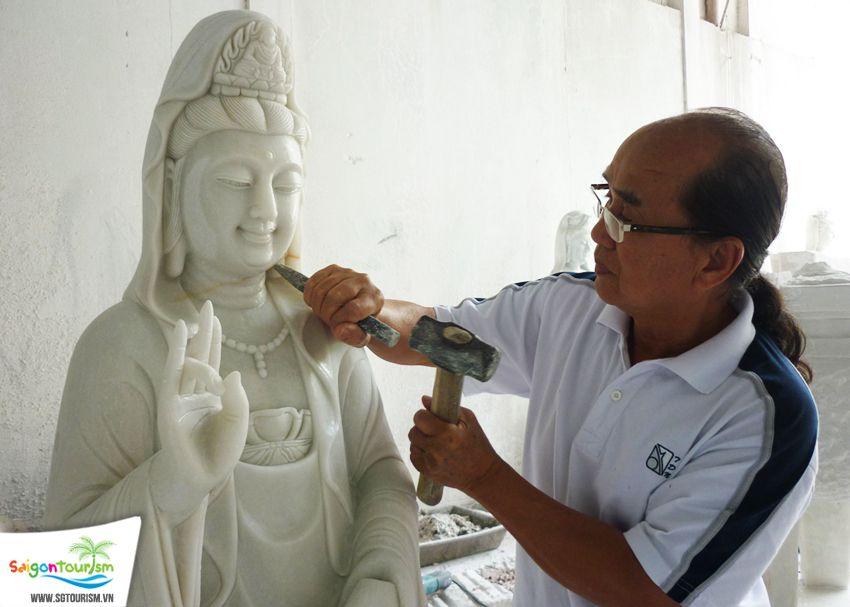 làng nghề đá non nước tại Đà Nẵng