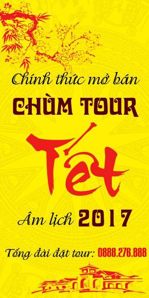 Saigontourism chính thức mở bán chùm tour Tết 2017 với giá tốt nhất thị trường