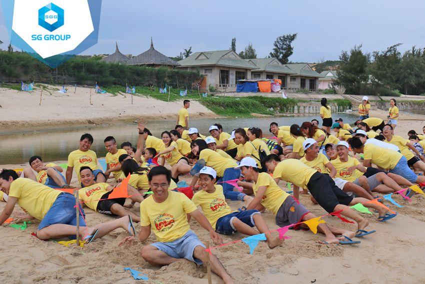 Teambuilding Mobifone Đồng Nai tại Phan Thiết