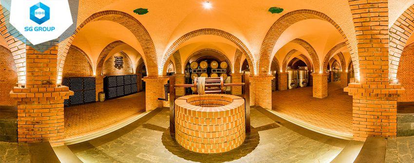 Hầm bảo quản rượu vang