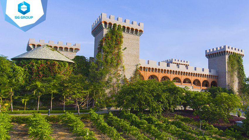 Lâu đài rượu vang Mũi Né