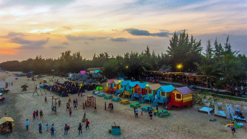 Coco Beach Camp: Nơi lý tưởng cho nhóm & Cặp đôi
