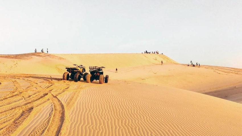 Đồi cát bay Mũi Né Bình Thuận - Cảnh quan độc đáo và kỳ thú